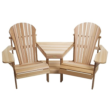 All Things Cedar Corner Tete-a-Tete Adirondack Seat