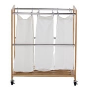 Trinity EcoStorage  3 Bag Laundry Sorter; Chrome