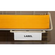 Charnstrom Hook-on Wire Shelf Labels (Set of 25)
