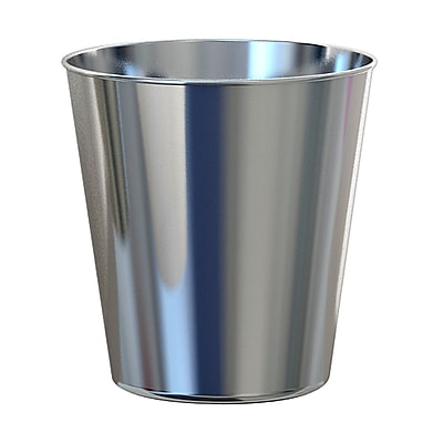 NU Steel Gloss 2.25 Gallon Waste Basket;