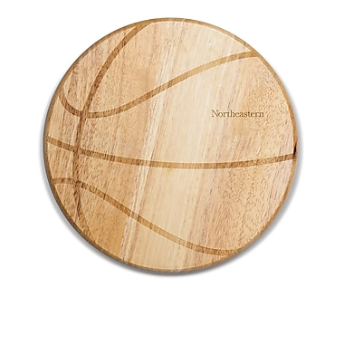 Picnic Time NCAA Free Throw Cutting Board; Northeastern Huskies