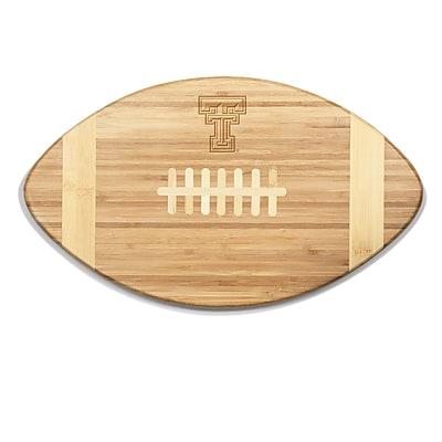 Picnic Time NCAA Touchdown! Engraved Cutting Board; Texas Tech