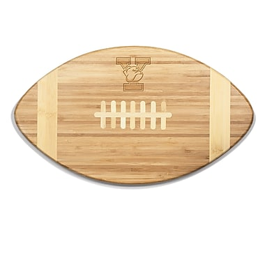 Picnic Time NCAA Touchdown! Engraved Cutting Board; Yale Bulldogs
