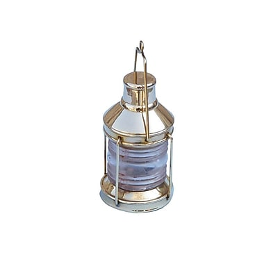 Handcrafted Nautical Decor Lantern Paperweight