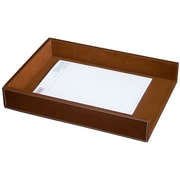 Dacasso 3200 Series Leather Front-Load Legal Tray in Rustic Brown