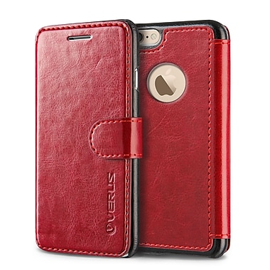 Verus – Étui Layered Dandy pour iPhone 6/6S Plus, rouge