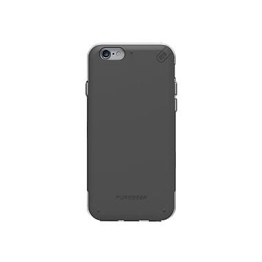 DualTek Pro iPhone 6/6S Case, Black/Clear