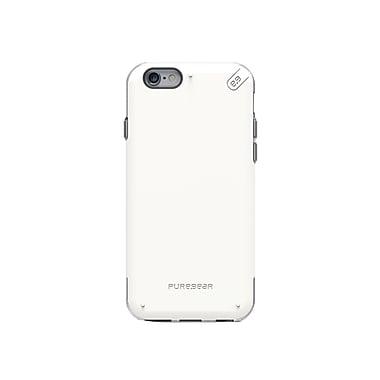 Puregear – Étui DualTek Pro pour iPhone 6/6S, blanc/transparent