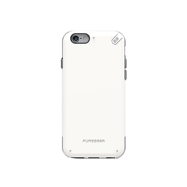 DualTek Pro iPhone 6/6S Case, White/Clear