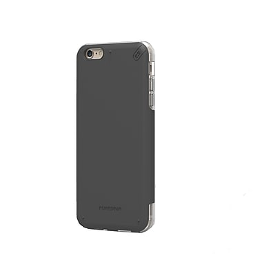 DualTek Pro iPhone 6/6S Plus Case, Black/Clear