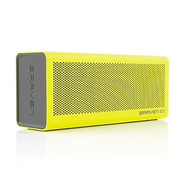 Braven 805 Portable Bluetooth Speaker, Yellow