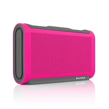 Braven Balance Portable Bluetooth Speaker, Raspberry