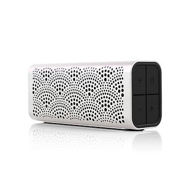 Braven Lux Portable Bluetooth Speaker, Pearl