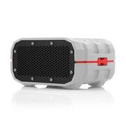 Braven BRV-1 Portable Bluetooth Speaker, Grey/Red