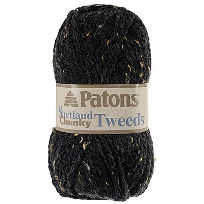 Shetland Chunky Yarn, Tweeds-Charcoal