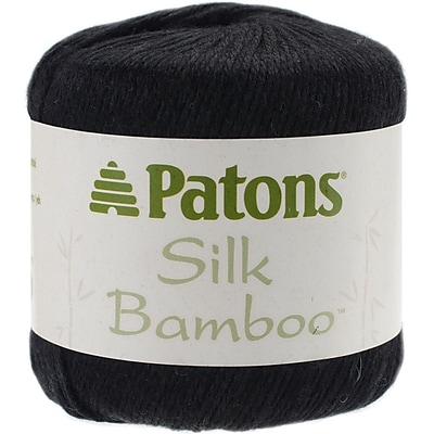 Silk Bamboo Yarn, Coal