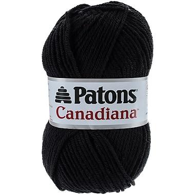 Canadiana Yarn, Solids-Black