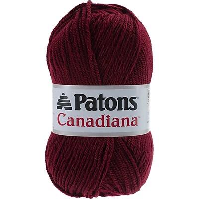 Canadiana Yarn, Solids-Burgundy