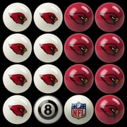 Imperial 16 Piece NFL Billiard Ball Set; Arizona Cardinals