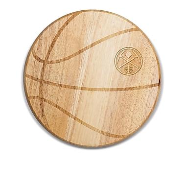 Picnic Time NBA Free Throw Cutting Board; Denver Nuggets
