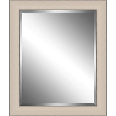 Ashton Wall D cor LLC Wood Framed Beveled Plate Glass Mirror; XX Large