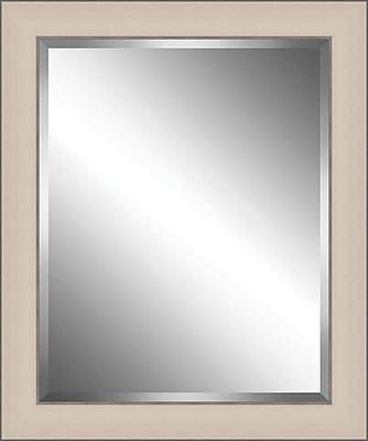 Ashton Wall D cor LLC Wood Framed Beveled Plate Glass Mirror; Medium