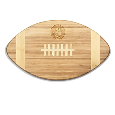 Picnic Time NCAA Touchdown! Engraved Cutting Board; Florida State