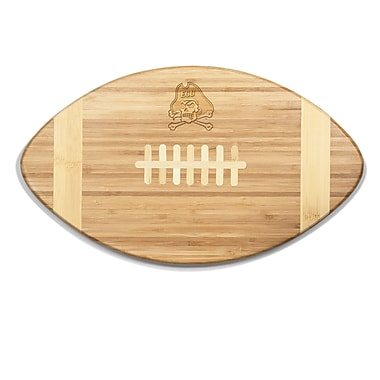 Picnic Time NCAA Touchdown! Engraved Cutting Board; East Carolina