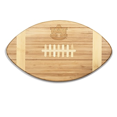 Picnic Time NCAA Touchdown! Engraved Cutting Board; Auburn