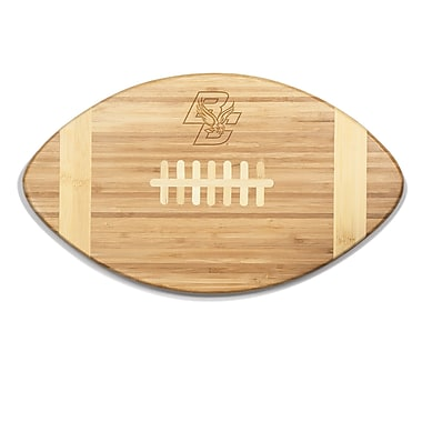 Picnic Time NCAA Touchdown! Engraved Cutting Board; Boston College