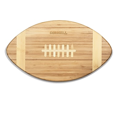 Picnic Time NCAA Touchdown! Engraved Cutting Board; Cornell Big Red