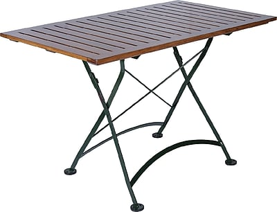 Furniture Designhouse European Caf 32'' x 48'' Folding Table