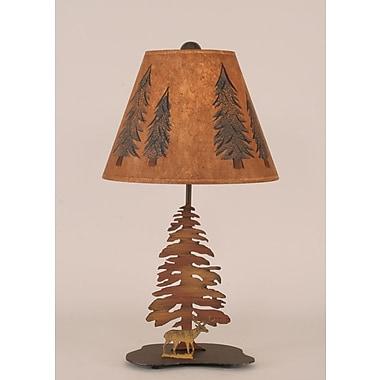 Coast Lamp Mfg. Rustic Living 21.5'' Table Lamp