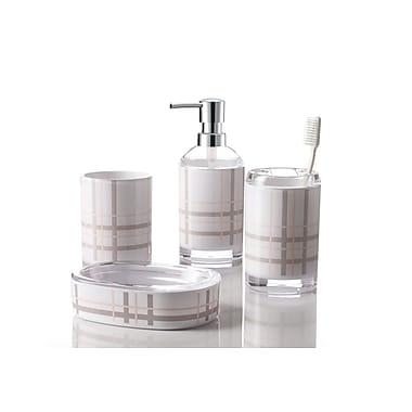 Immanuel England 4-Piece Bathroom Accessory Set