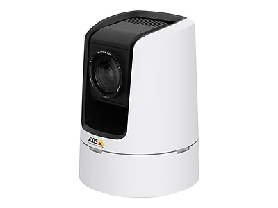 White f1.6-4.7 Wired Network Camera