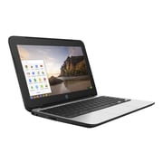 "HP® 11 G4 EE V2W30UT 11.6"" Chromebook, LCD, Intel Celeron N2840 2.16 GHz, 16GB, 4GB, Chrome, Black"
