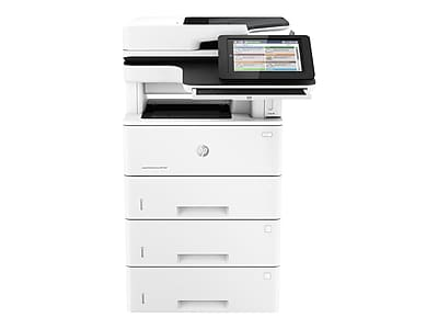 HP® LaserJet Enterprise Flow M527c Black and White Laser Multifunction Printer F2A81A#BGJ, New