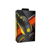 SteelSeries 62340 Rival 100 USB Wired Optical Gaming Mouse, Proton Yellow