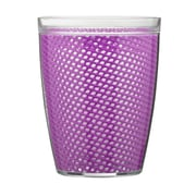 Kraftware Fishnet Double Wall Insulated Tumbler II (Set of 4); Purple