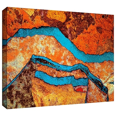 ArtWall 'Niquesa' by Dean Uhlinger Painting Print on Wrapped Canvas; 18'' H x 24'' W