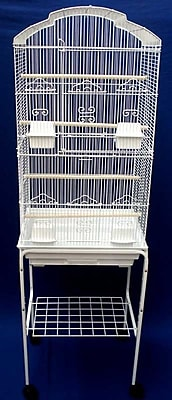 YML Shell Top Small Bird Cage w/ Stand