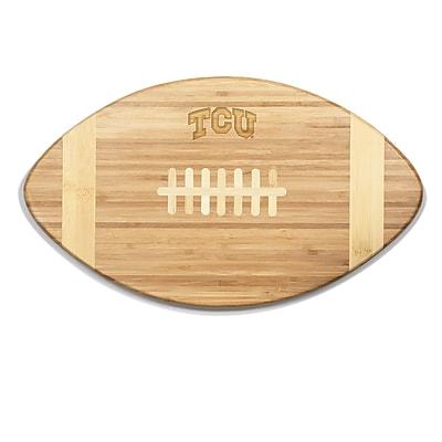 Picnic Time NCAA Touchdown! Engraved Cutting Board; TCU