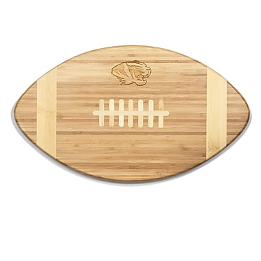 Picnic Time NCAA Touchdown! Engraved Cutting Board; Missouri