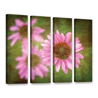 ArtWall Flowers In Focus 3 by Antonio Raggio 4 Piece Graphic Art on Wrapped Canvas Set