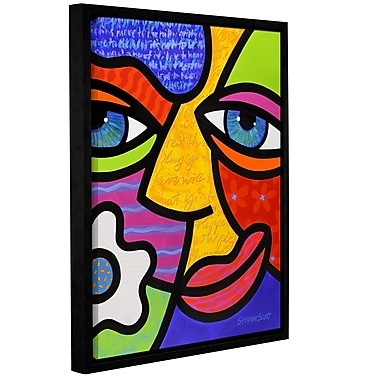 ArtWall Sabrina Starr by Steven Scott Framed Graphic Art on Wrapped Canvas; 14'' H x 18'' W