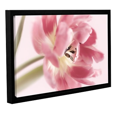 ArtWall 'Sensuous' by Cora Niele Framed Graphic Art on Wrapped Canvas; 16'' H x 24'' W