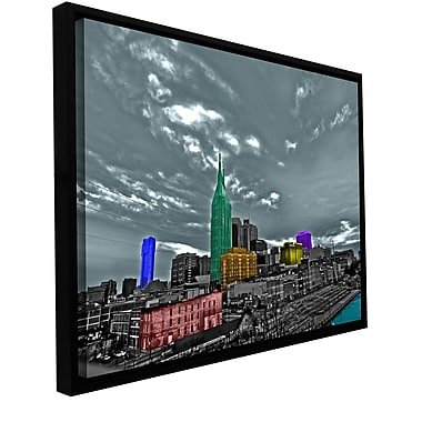 ArtWall 'Nashville' by Revolver Ocelot Framed Photographic Print on Wrapped Canvas; 16'' H x 24'' W