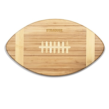 Picnic Time NCAA Touchdown! Engraved Cutting Board; Syracuse