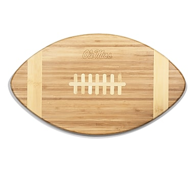 Picnic Time NCAA Touchdown! Engraved Cutting Board; Ole Miss