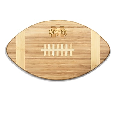 Picnic Time NCAA Touchdown! Engraved Cutting Board; Mississippi State